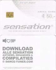 Arenakaart A088-01 50 euro: Sensation White 2007
