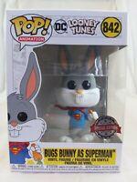Animation Funko Pop - Bugs Bunny as Superman - Looney Tunes - No. 842