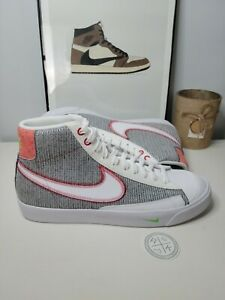 Nike Blazer Mid '77 Recycle Jersey Pack Grey CW5838 022 Men's Size 11.5