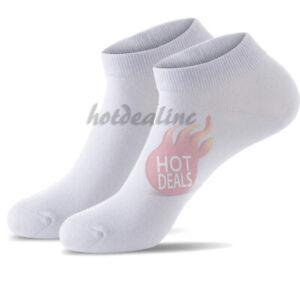 3,6,12 Pairs Women's Ankle Quarter Crew Sports Socks Cotton Low Cut Size 9-11