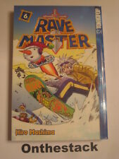 MANGA:   Rave Master Vol. 6 by Hiro Mashima (2004, Paperback)  In new condition!