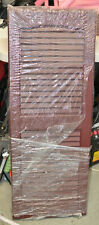 """Severe Weather Burgundy Storm Shutters for Homes 15"""" x 39"""""""