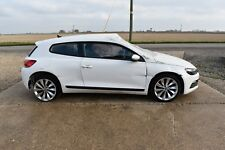 2014 VW Scirocco 1.4 Tsi CTH Engine 6 Speed Gearbox Salvage Damaged for parts