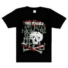 The Pogues County Hell Music punk rock t-shirt  NEW