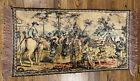 """Vintage Spanish Victorian Tapestry Dancing Festivities Wall hanging 45.5""""x 22.5"""""""