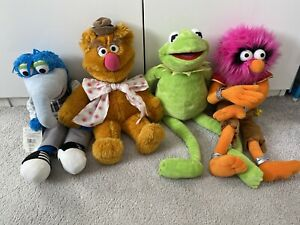 Set of Four Muppets Plush Toys