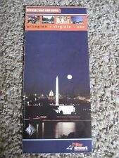 Arlington Virginia, Official Map And Guide, 2000