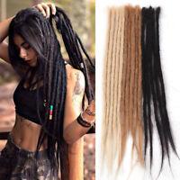 """5Piece 20"""" Handmade Dreadlocks Extensions 100% Human Hair Crochet Jamaica Dreads"""