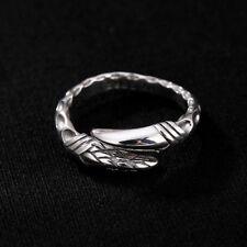 I02 Ring Drache Drachenklaue aus Sterling Silber 925 größenverstellbar