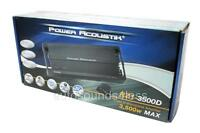 Power Acoustik RZ1-3500D 3500 Watt Monoblock Class D Car Subwoofer Amplifier New