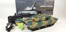 NEW Heng Long 2.4ghz 1/24 Infrared BB Firing Type 90 Model Battle Tank + Sounds!