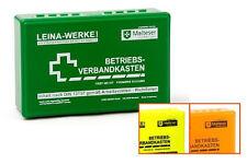 Leina Werke Betriebsverbandkasten klein mit Wandhalterung grün (4011166200018)