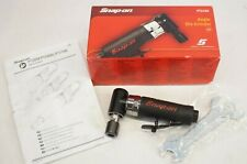 """NEW Snap-on PT210A 1/4"""" Pneumatic Air Angle Die Grinder 12,000 RPM"""