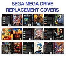 RETRO SEGA MEGA DRIVE GAME REPLACEMENT COVERS