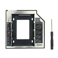 "2.5"" SSD Adapter SATA 3.0 HDD Hard Disk Drive CD-ROM Bracket Internal Enclosure"