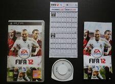 FIFA 12 : JEU Sony PSP (EA Sports COMPLET envoi suivi)