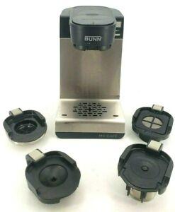 Bunn My Cafe Model MCU Single Cup Multi-Use Coffee Brewer w 4 Drawer Attachments