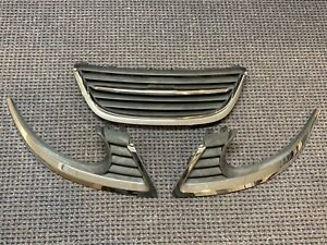OEM 2006 - 2009 Saab 9-5 Complete Grill Assembly and 3 Pcs Hood Trim Molding