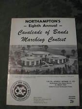 Northampton PA Cavalcade  Bands Marching Contest September 19 1970 book program