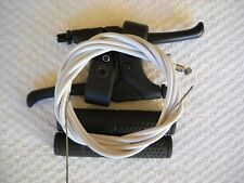 **NOS MOUNTAIN BIKE BRAKE LEVERS HANDLE BAR GRIPS,FRONT/REAR BRAKE CABLES**