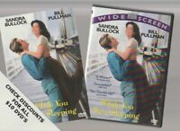 WHILE YOU WERE SLEEPING DVD Horror Movie LIKE NEW WITH INSERTS SANDRA BULLOCK