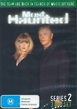 Most Haunted : Series 2 (DVD :3 DISC) COMPLETE SEASON 2 - 7.5 hours ! VERY RARE!