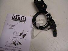 1- EARPHONE SURVEILLANCE KIT BY OTTO FOR GE ERICSSON M/A-COM JAG 700P & P7100