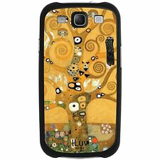 Samsung Galaxy S3 Gold Gustav Klimt Tree of Life Cell Phone Case Cover