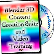 3D Content Creation Suite and Video Training 2-DVDs Set