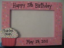 HAPPY BIRTHDAY party children girl photo picture frame