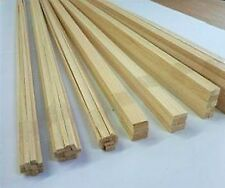 Quality Obeche Stripwood 5mm x 5mm x 457mm Bundle of 50 Strip Wood O/ST55X5
