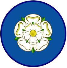 Yorkshire Car Tax Disc Holder - County Flag Badge REUSABLE Gift - Brand New