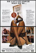 GETTING IT RIGHT__Orig. 1989 Trade AD promo__HELENA BONHAM CARTER__LYNN REDGRAVE