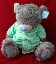 "ME TO YOU BEAR TATTY TEDDY X LARGE 24"" GREEN DRESSING GOWN BEDTIME BEAR PLUSH"