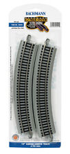 """Bachmann E-Z Track System HO Scale 18"""" Radius Curved Track Pack of 4 ( 44501)"""