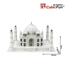 3D Puzzles Taj Mahal Cardboard Jigsaw DIY Puzzle Educational Toy 87pcs MC081h