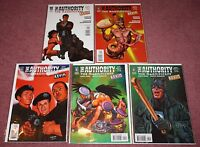GARTH ENNIS THE AUTHORITY: THE MAGNIFICENT KEVIN COMIC BOOK, ISSUES 1-5