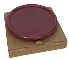 New ListingLongaberger Pottery Coaster/Crock Lid in Paprika