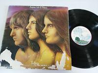 "Emerson Lake & Palmer Trilogy LP 12 "" G VG Spanisch Ed 1972 Klappcover First"