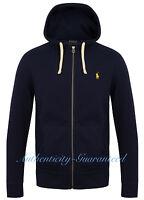 Ralph Lauren Polo Fleece Hoody Navy Light Grey Blue XS - XXL RRP £109 BNWT