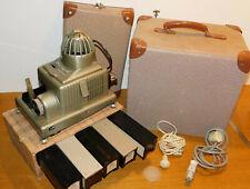 VINTAGE Braun Nurnberg PAXIMAT ELECTRIC projecteur diapositive PHOTO +5 MAGAZIN