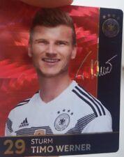 Rewe DFB WM 2018 Glitzerkarte Nr. 29 Timo Werner Sammelkarte Glitzerkarten REWE+
