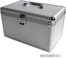 1 Mediarange Aluminium 200 CD DVD DJ storage Flight case numbered sleeves BOX75
