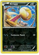 Furious Fists 66/111 Scraggy Reverse Holo Pokemon Card
