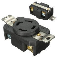 NEMA L14-30R 4P Twist Lock Locking Receptacle Plug Female Device 30A 125V-250V