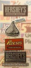 New Hershey's Souvenir Refrigerator Magnets Hershey Kiss Reeses Hershey's Kisses
