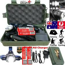 Waterproof 150000LM CREE T6 LED Headlamp Headlight Flashlight Head Torch Camping