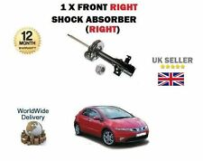 FOR HONDA CIVIC 1.4 1.8 2.2 CDTI 2006--> NEW FRONT RIGHT RH SIDE SHOCK ABSORBER