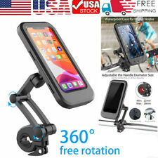 New listing 360° Cell Phone Holder Motorcycle Bike Handlebar Waterproof Mount w/Touch Screen