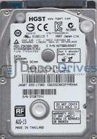HTS545050A7E362, PN 0J38755, MLC DA5754, Hitachi 500GB SATA 2.5 Hard Drive